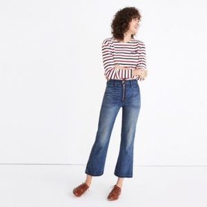 Rivet and Thread Madewell zipper front jeans 28
